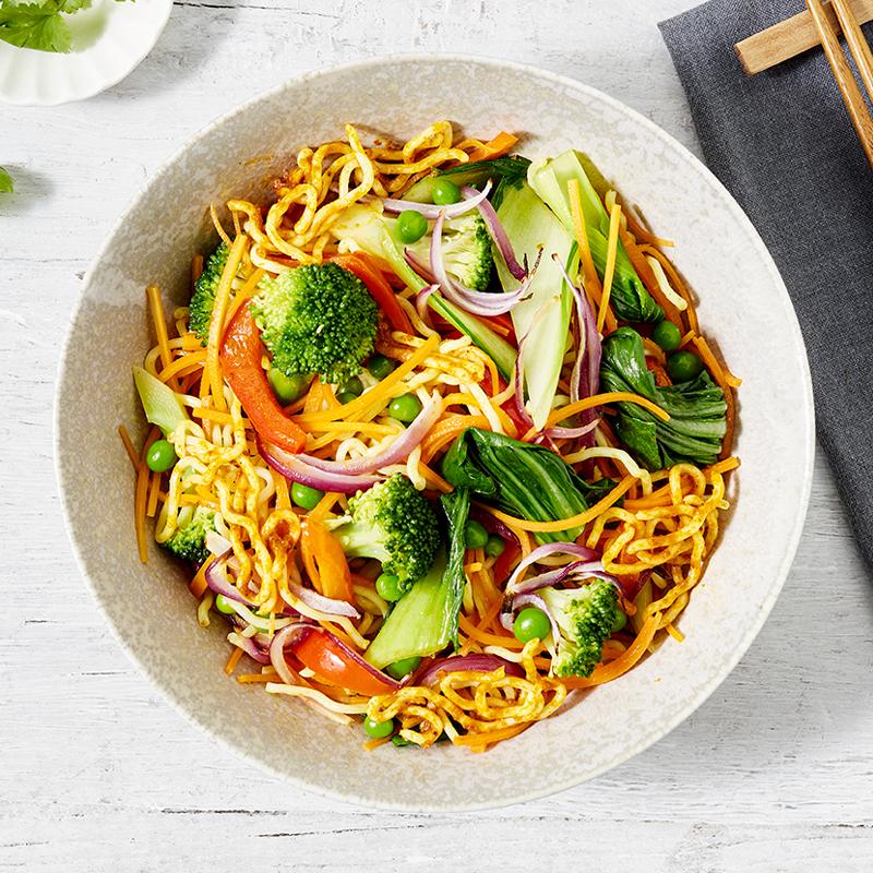 Vegan Singapore Noodles (V)(VG)(ND)